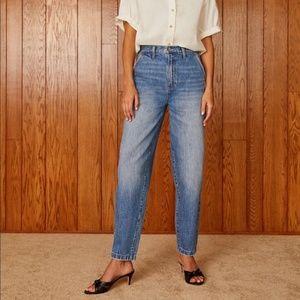 Aritzia Denim Forum C'est Chic High Rise Jeans